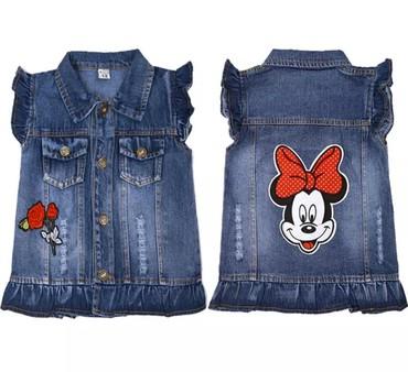 детская одежда бу для мальчиков в Кыргызстан: Детские жилеты для мальчиков и девочек, джинсовые жилеты с рисунками