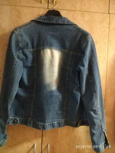 Ženska tekses jakna veličine XL u dobrom stanju cena 700 din