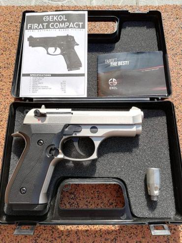 Ekol Compact 9mm,startni pistolj,CRNI i SIVI(novo) - Belgrade