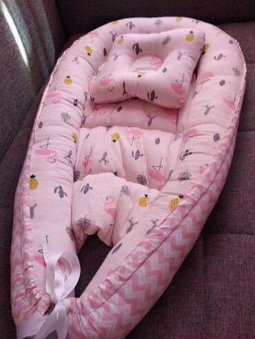 Продаю гнездо для новорожденных,в отличном состоянии,двустороннее с