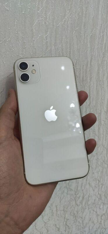 Apple Iphone - Бишкек: Б/У IPhone 11 128 ГБ Белый