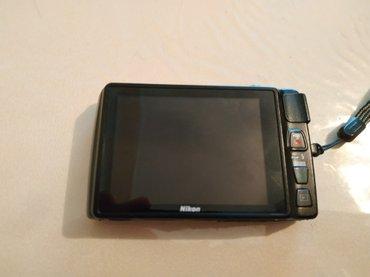 Bakı şəhərində Nikon reqemsal fotoaparat S4300 modeli,cox az istifade olunub teze