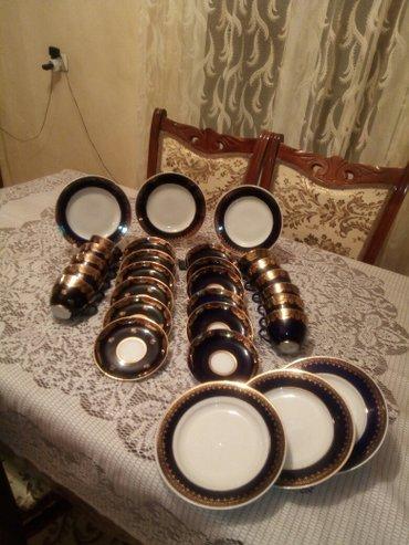 Bakı şəhərində Tecili satiram..Lfz çay dəsti...12 nelbeki,11 çasqa,,Boşqablar