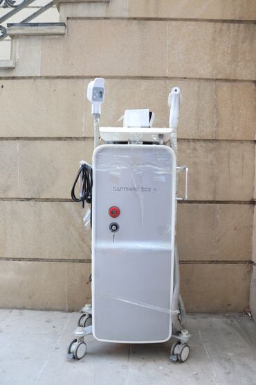 """lazer aparati satilir in Azərbaycan   TIBBI AVADANLIQ: Lazer aparatı """"Sapphire icex"""" Cihaz ideal vəziyyətdədir 1 il işlənib"""