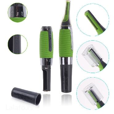 Micro Touch Trimer  Pogodan je za uklanjanje dlaka iz nosa i ušiju, - Nis - slika 3
