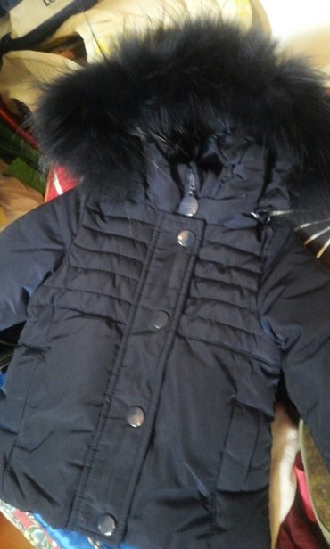 Новая, 6 мес, зимняя куртка для девочки в Бишкек