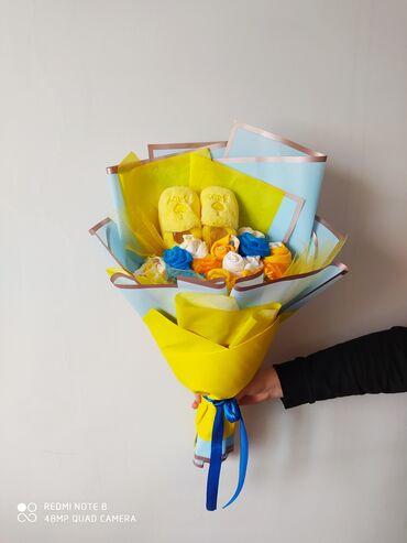 аистенок детская одежда в Кыргызстан: Подарочный букет из детской одежды. Практичный и полезный подарок для