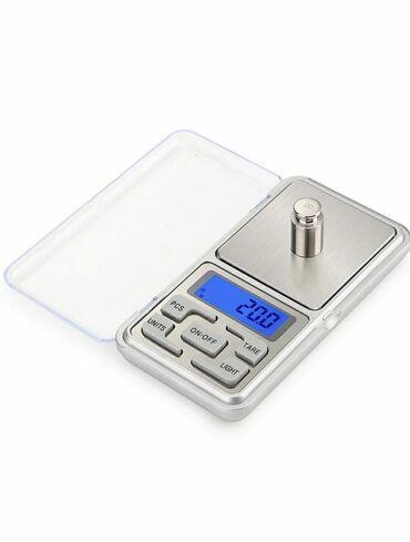 Бытовая техника - Кыргызстан: Карманные электронные весы(ювелирные весы).Данная модель металлических