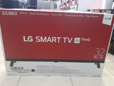 LG 32LM 6350. Smart tv magic pult. ( 82cm) 1 il resmi zemanet. Yenidir