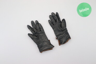 Аксессуары - Киев: Жіночі шкіряні рукавички     Довжина: 21 см Ширина: 9 см  Стан задовіл