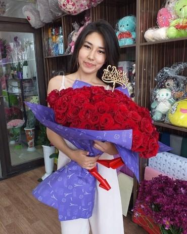 Роза оптом и в розницу от 700 сомов и выше в Бишкек