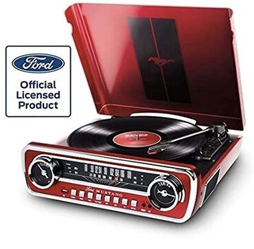 isma mustang - Azərbaycan: ION FORD MUSTANG TURNTABLE 60-ci illerin Ford Mustang magnitofonhn