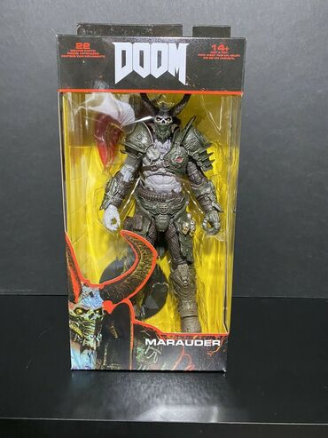Doom Eternal - Marauder  Visina 18 cm  Novo i neotpakovano