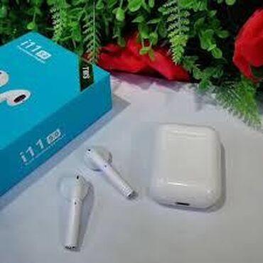 İ 11 Bluetooth Nauşnik ela sesi var