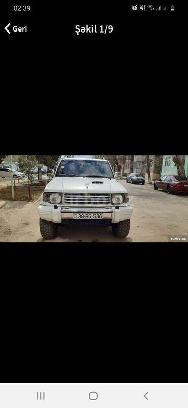 Nəqliyyat Sumqayıtda: Mitsubishi Pajero 2.8 l. 1996 | 208569 km