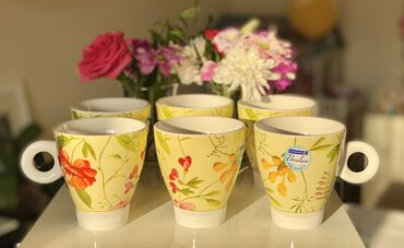 luminarc наборы посуды в Азербайджан: Fincan Luminarc «Garden Spirit»6 ədədЧашки Luminarc «Garden