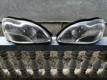 Mersedes-Benz s-class w220 faralar