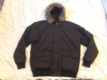 Zimska jakna sa krznkm vel. XL ..kao nova - Prokuplje