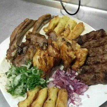 работа повар без опыта в Азербайджан: Kebabcilik isi axtariram restoranlarda ve kafelerde xirda kebab