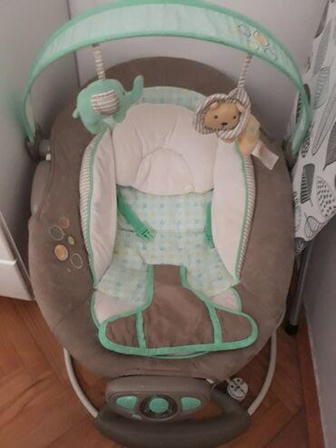 Ljuljaska za bebe - Srbija: Majcino krilo za bebe ocuvana kao nova bez ostecenja.kad se ukljuci