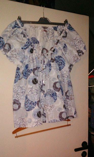 Μπλουζάκι βαμβακερό με λαχουρια νούμερο 50-52 με λάστιχο στο λαιμό
