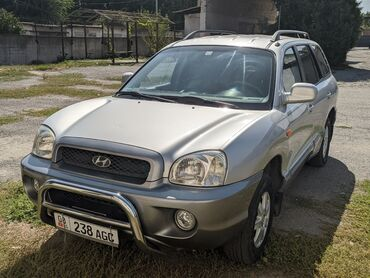 Hyundai - Кыргызстан: Hyundai Santa Fe 2.4 л. 2002