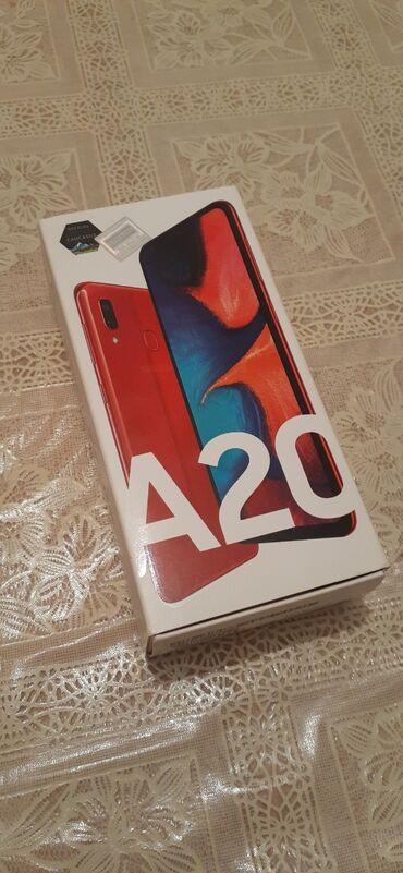 Samsung s 5 - Azərbaycan: Yeni Samsung A20 32 GB qırmızı