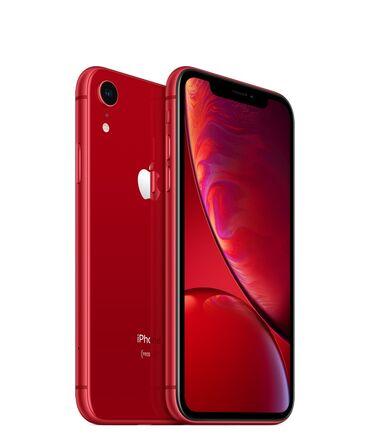 iphone под подушкой в Кыргызстан: Б/У iPhone Xr 64 ГБ Красный