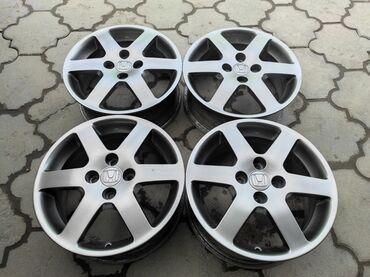 купить диски для машины в Кыргызстан: Оригинальные диски HONDA Диаметр R15Сверловка 4*100Ширина 6.0jВылет