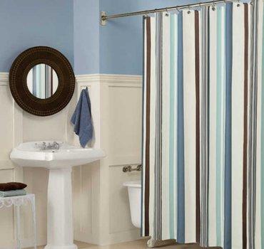 В наличии🕺!!! Стильные шторки в ванную комнату!!! Размер: 180*200!  Ц в Бишкек