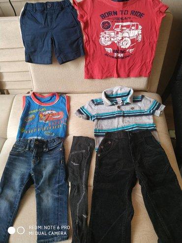 детские леопардовые лосины в Азербайджан: Детские пакет вещей х/бна 12/24мес,цена за все