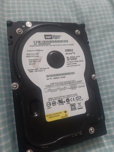 жесткий диск 80 в Кыргызстан: Продам жёсткий диск 80гб