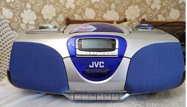 бу диски на ваз в Кыргызстан: Продаю магнитолу (бумбокс) JVC RC-BX53, состояние отличное