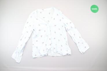 "Рубашки и блузы - Цвет: Голубой - Киев: Жіноча сорочка з принтом ""Лампочки"" Mango Casual, p. XS    Довжина: 59"