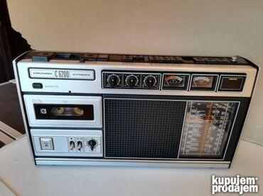 Grundig - Srbija: GRUNDIG-C6200 Prodajem Legendarni kao nov sacuvan radio kasetofon. Gr