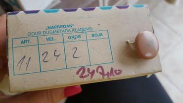 Dugmad 288 komada u kutiji cena po kutiji boje na slici - Pozarevac