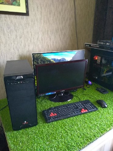 компьютеры geforce rtx 2080 ti в Кыргызстан: Компьютер для игр.Процессор:i5 3470Материнская плата:H61ОЗУ:8gbЖёсткий