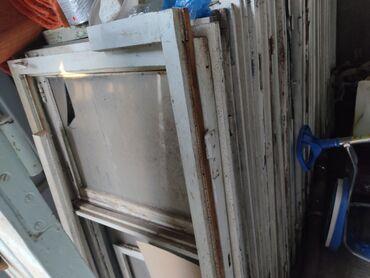 продам бу в Кыргызстан: Продам больше 30 окон бу, почти все целые стекла, цена по 150с за одну