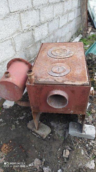 Печи и камины - Кыргызстан: Котёл,металл пятёрка,б.у продаю