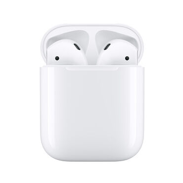 AirPods 2 с зарядным футляромРазработаны AppleАвтоматическое включение