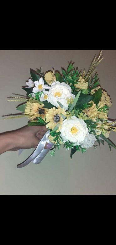 свадебный букет в Кыргызстан: Свадебный букет не обыкновенный