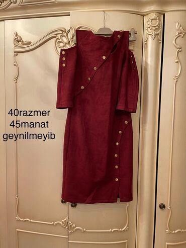 - Azərbaycan: Qadin paltari 40 razmer