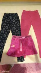 Malo punije helanke pantalonice teget su iz h&m,hello kiti roze su - Belgrade