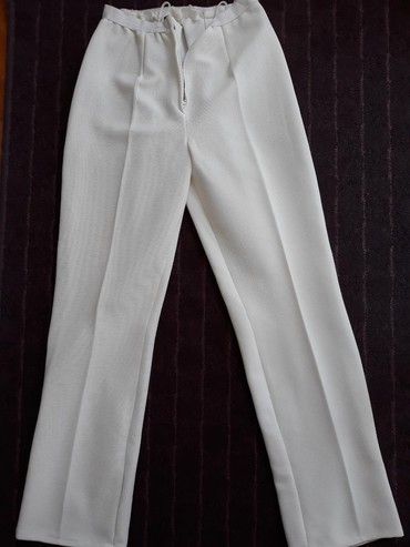 Pantalonice-s - Srbija: Bele letnje pantalonice L