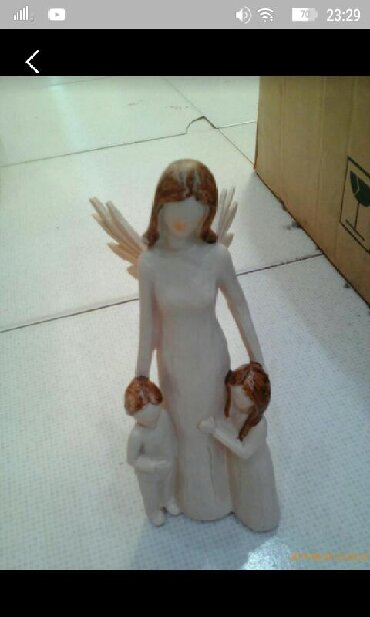 Mama - angel, dekor dlya doma