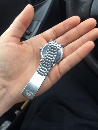 orient оригинал в Кыргызстан: Серебристые Мужские Наручные часы Orient