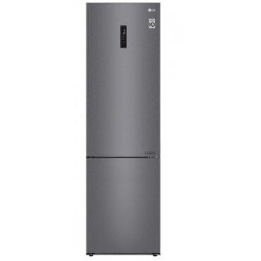 Б/у Двухкамерный Серебристый холодильник LG