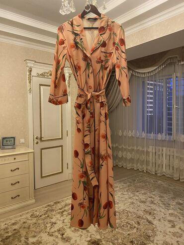 Детский мир - Кызыл-Туу: Платье халат. По индивидуальному заказу. В единственном экземпляре.  Р