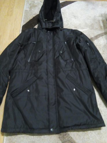 Muška odeća | Vrbas: Prelepa zimska,duza,muska jakna,velicina 4xl,ne nosena samo etiketa