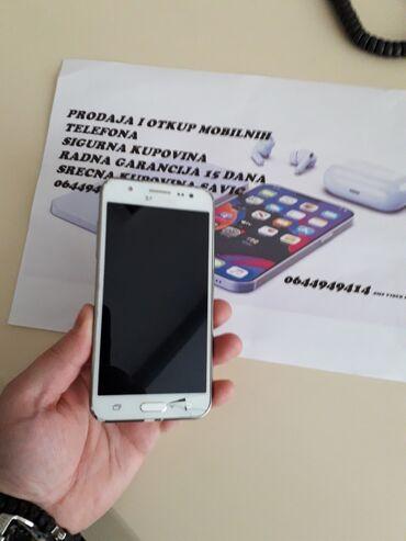 Samsung galaxy on5 - Srbija: Upotrebljen Samsung Galaxy J5 2016 2 GB bela